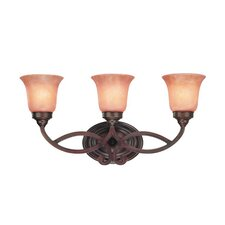 Medici 3 Light Vanity Light