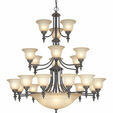 Richland 26 Light Bowl Chandelier