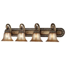 Carlyle 4 Light Bath Vanity Light