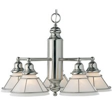 Craftsman 5 Light Chandelier
