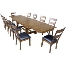 Mariposa 11 Piece Dining Set