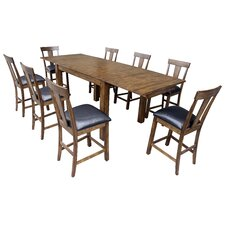 Mariposa 9 Piece Dining Set