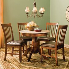 <strong>A-America</strong> Granite 5 Piece Dining Set