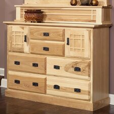 Amish Highlands 6 Drawer Mule Chest