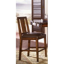 "Mesa 24"" Bar Stool with Cushion"