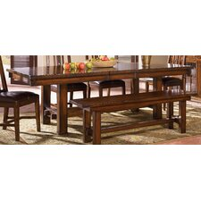 Mesa Rustica Solid Mahogany Kitchen Bench