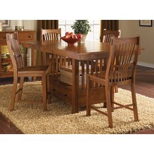 <strong>A-America</strong> Laurelhurst 5 Piece Counter Height Dining Set