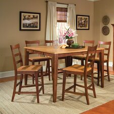 Bristol Point 7 Piece Counter Height Dining Set