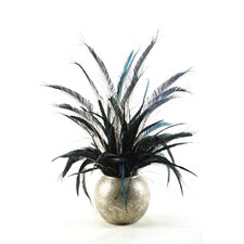 <strong>D & W Silks</strong> Mixed Feathers Floor Plant in Pot