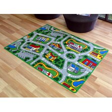 Interactive Suburb Kids Rug