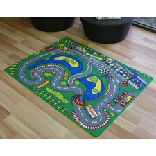 Interactive Grand Prix Kids Rug