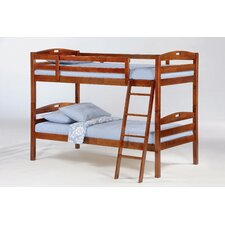 <strong>Night & Day Furniture</strong> Zest Sesame Twin over Twin Bunk Bed