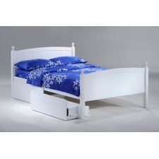 Zest Licorice Panel Bed