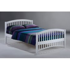 Zest Molasses Bed in White