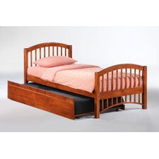 <strong>Night & Day Furniture</strong> Zest Molasses Slat Bed