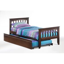 <strong>Night & Day Furniture</strong> Zest Sarsaparilla Bed in Chocolate
