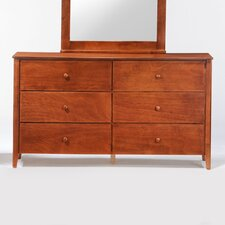 <strong>Night & Day Furniture</strong> Zest 6 Drawer Dresser