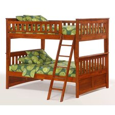 <strong>Night & Day Furniture</strong> Spices Ginger Full over Full Bunk Bed