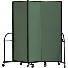 Heavy Duty Three Panel Portable Room Divider