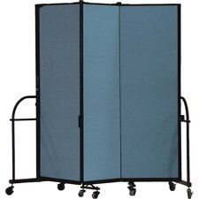 <strong>ScreenFlex</strong> Heavy Duty Three Panel Portable Room Divider