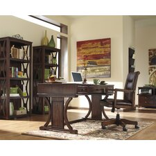 Loretto 4-Piece Standard Desk Office Suite