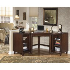 Norton Corner Desk with Bookcase