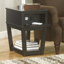 <strong>Signature Design by Ashley</strong> Avalon Chairside Table