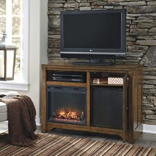 "Bellefonte 50"" TV Stand with Electric Fireplace"