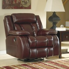 <strong>Signature Design by Ashley</strong> Ernest Swivel Rocker Recliner
