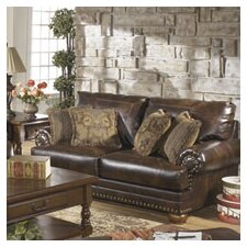 Leighton Leather Loveseat
