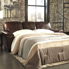 Steele Queen Leather Sleeper Sofa