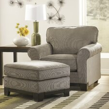 <strong>Signature Design by Ashley</strong> Brantley Chair and Ottoman