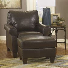 Elkton Chair and Ottoman