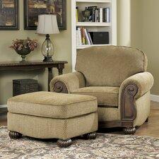 Taylor Chair and Ottoman