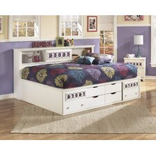 Zayley Twin/Full Storage Bed