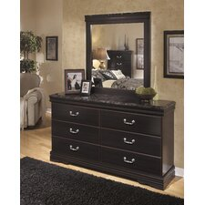 Esmarelda 6 Drawer Dresser