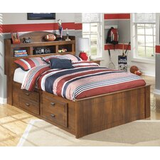 Barchan Kids Panel Bookcase Bed
