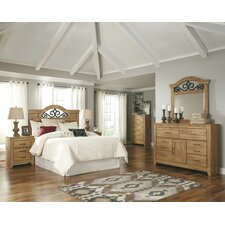 Drogan Queen / Full Panel Headboard Bedroom Collection