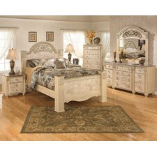 Saveaha Four Poster Bedroom Collection