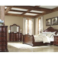 Martanny Sleigh Bedroom Collection