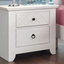 Iseydona 2 Drawer Nightstand