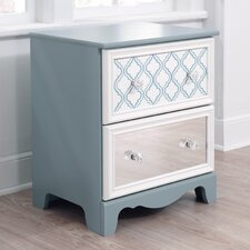 Mivara 2 Drawer Nightstand