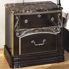 Hopedale 2 Drawer Nightstand