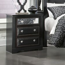 Alamadyre 3 Drawer Nightstand