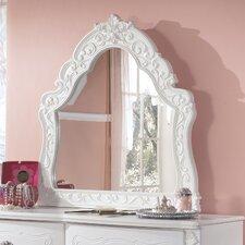 Exquisite Crowned Top Dresser Mirror