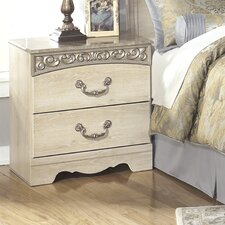 Catalina 2 Drawer Nightstand