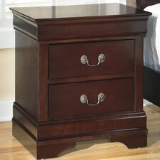 Alisdair 2 Drawer Nightstand