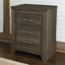 Juararo 2 Drawer Nightstand
