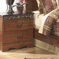 Fairbrooks Estate 2 Drawer Nightstand