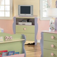 Doll House 2 Drawer Media Chest